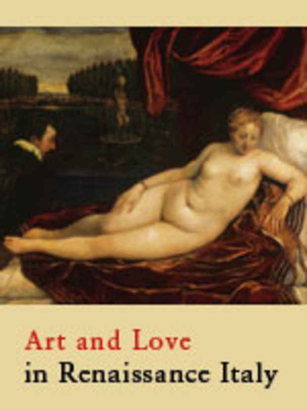 "poster for ""Art and Love in Renaissance Italy"" Exhibition"