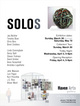 "poster for ""SOLOS"" Exhibition"