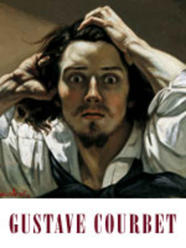 poster for Gustave Courbet Exhibition