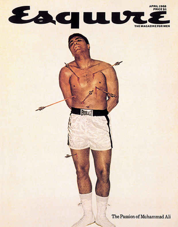 "poster for George Lois ""The Esquire Covers"""