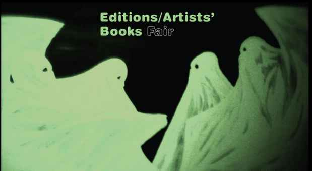 poster for The Editions and Artists' Book Fair