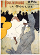 "poster for Toulouse-Lautrec ""100 Prints & Posters"""