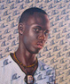 "poster for Kehinde Wiley ""The World Stage: Africa, Lagos ~ Dakar"" Exhibition"