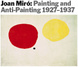 "poster for Joan Miró ""Painting and Anti-Painting 1927–1937"""