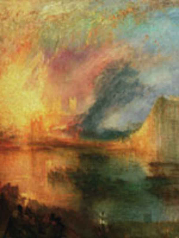 poster for J. M. W. Turner Exhibition