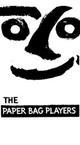 "poster for The Paper Bag Players ""50 Years of Theater Art"" Exhibition"