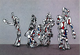 "poster for ""Jean Dubuffet: Monumental Sculpture from the Hourloupe Cycle"" Exhibition"
