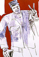 "poster for Leon Golub ""Did It!"""