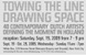 "poster for ""Towing the Line, Drawing Space: 40 Contemporary Dutch Artists, Defining the Moment in Holland"" Exhibition"