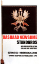 "poster for Rashaad Newsome ""Standards"""