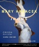 "poster for Mary Hrbacek ""Icons"""