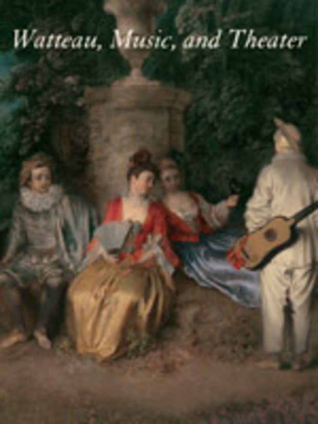 "poster for ""Watteau, Music, and Theater"" Exhibition"