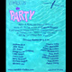 "poster for ""The Party"" Exhibition"