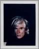 "poster for Andy Warhol ""Celebrity Portraits and Nudes"""