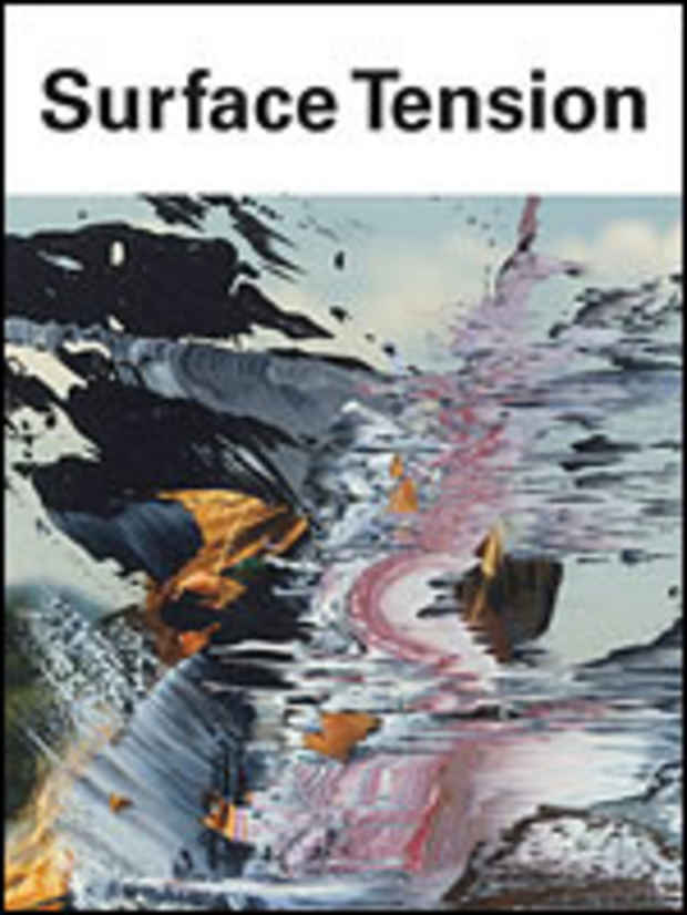 "poster for ""Surface Tension: Contemporary Photographs from the Collection"" Exhibition"