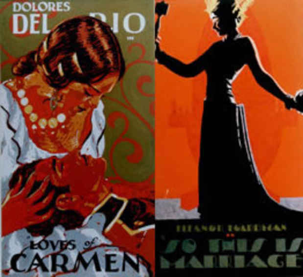 "poster for ""Batiste Madalena: Hand-Painted Film Posters for the Eastman Theatre, 1924–1928"" Exhibition"