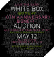 poster for 10th Anniversary Benefit Auction 2009