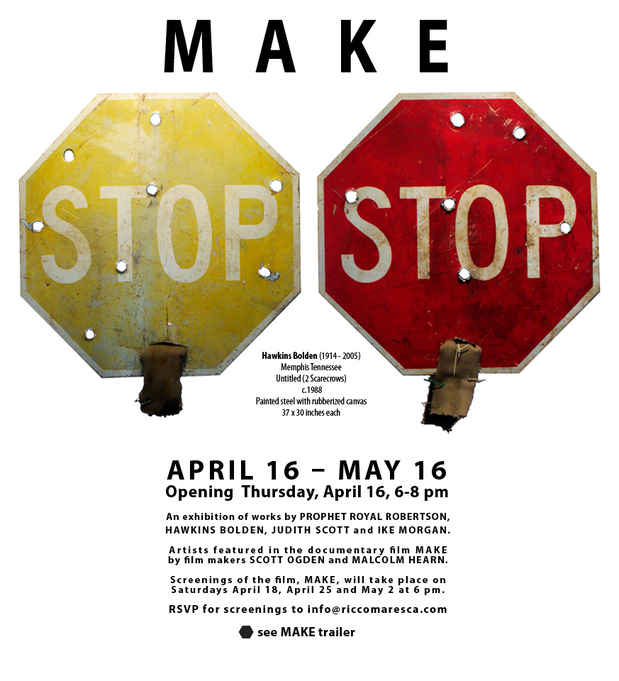 "poster for ""Make"" Exhibition"
