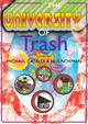 "poster for ""The University of Trash"" Exhibition"
