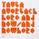 "poster for Tauba Auerbach ""Here and Now / And Nowhere"""