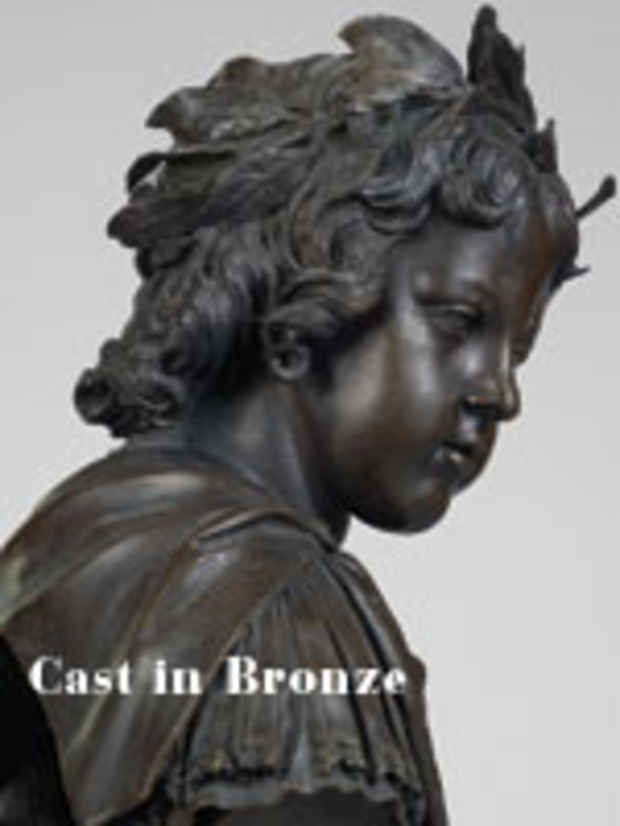 "poster for ""Cast in Bronze: French Sculpture from Renaissance to Revolution"" Exhibition"