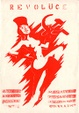 "poster for ""Performing Revolution: The Creative Opposition in Central and Eastern Europe in the 1980s"" Exhibition"