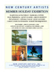 poster for Member Holiday Exhibition