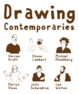 "poster for ""Drawing Contemporaries"" Exhibition"