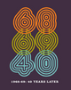"poster for ""1968-69: 40 Years Later"" Exhibition"