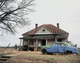 "poster for William Christenberry ""House and Car and"""
