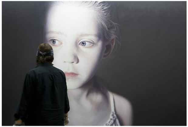 poster for Gottfried Helnwein Exhibition