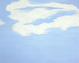 "poster for Joe Goode ""Cloud Paintings from the 60's and 70's"""