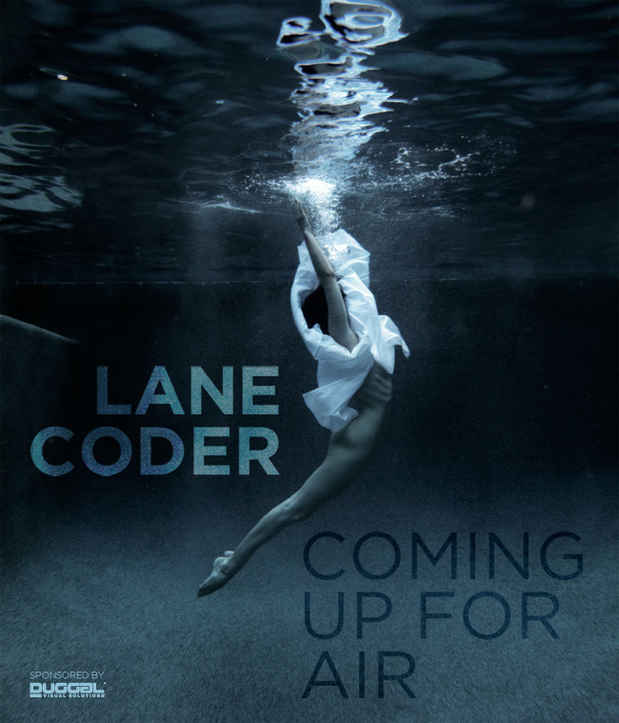 poster for Lane Coder Exhibition