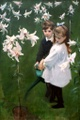 "poster for John Singer Sargent ""Sargent and Impressionism"""