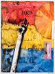"poster for Jasper Johns ""Ink on Plastic"""