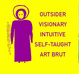 poster for Outsider Art Fair