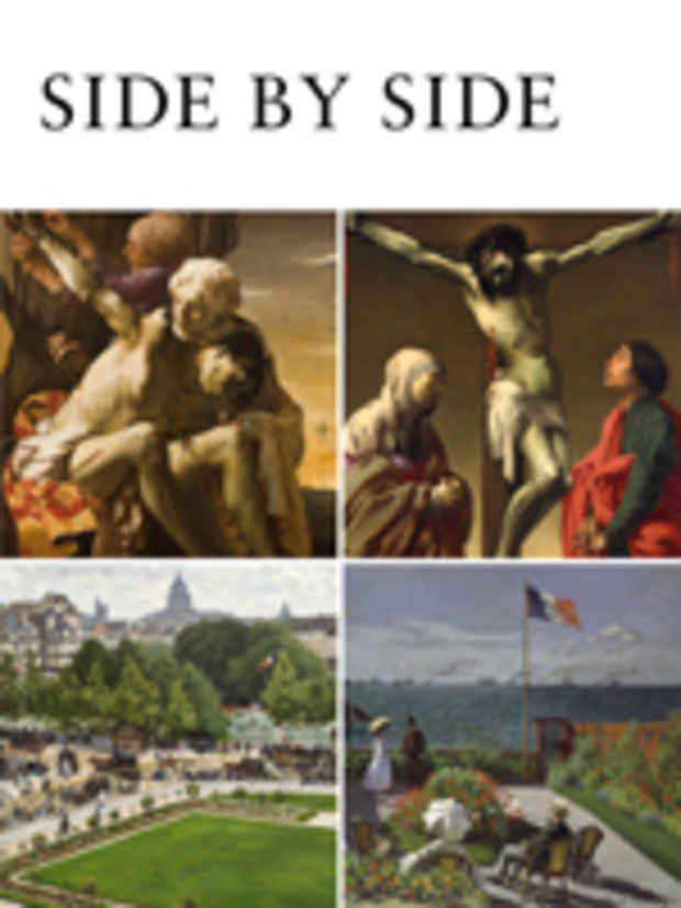 "poster for ""Side by Side: Oberlin's Masterworks at the Met"" Exhibition"