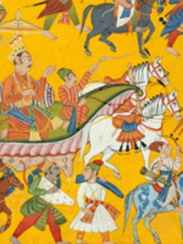 "poster for ""Epic India: Scenes from the Ramayana"" Exhibition"