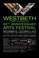 poster for Westbeth 40th Anniversary Festival