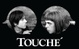 "poster for Ted Mineo and Colleen Asper ""Touché"""