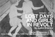"poster for Junko Shimizu ""Lost Days and Girls in Revolt"""