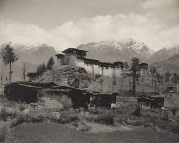 "poster for John Claude White ""Photos of Bhutan and Sikkim"""