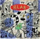 "poster for ""BLAB!: A Retrospective"" Exhibition"