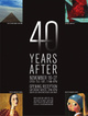 "poster for ""40 Years After"" Exhibition"