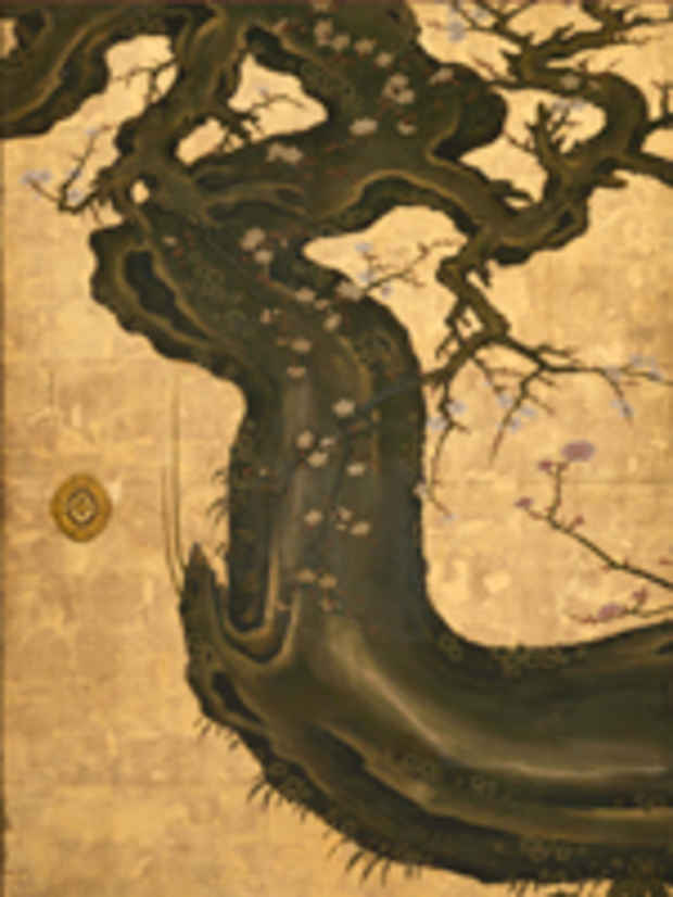 "poster for ""Five Thousand Years of Japanese Art: Treasures from the Packard Collection"" Exhibition"
