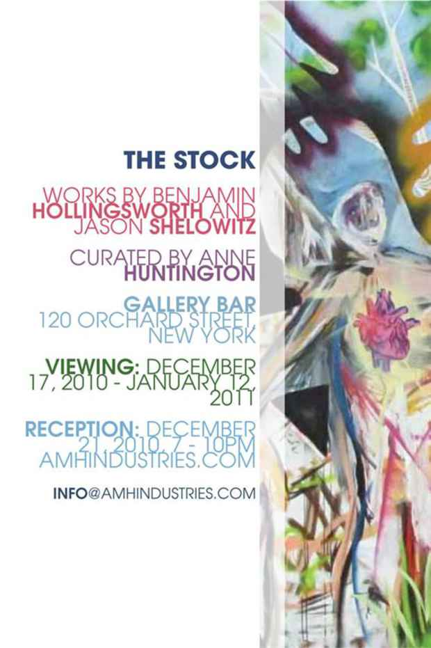 "poster for Benjamin Hollingsworth and Jason Shelowitz ""The Stock"""