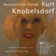 "poster for Kurt Knobelsdorf ""Postcard From Florida"""