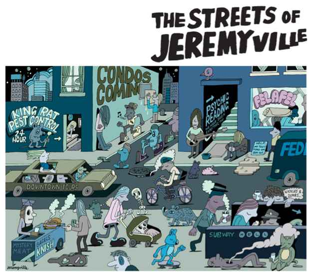 "poster for Jeremyville ""The Streets of Jeremyville"""
