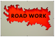"poster for Annette Rusin ""Road Work"""