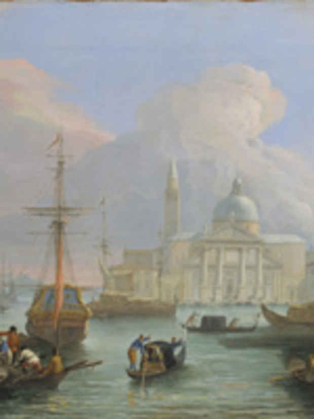 "poster for ""Italy Observed: Views and Souvenirs, 1706–1899"" Exhibition"